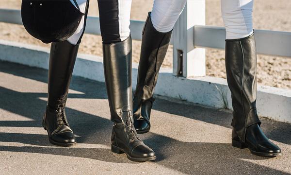 botas para montar caballos