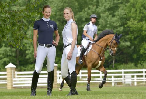 ropa de equitación