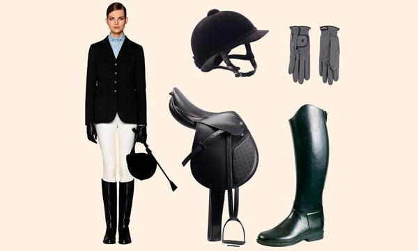 ropa para equitación