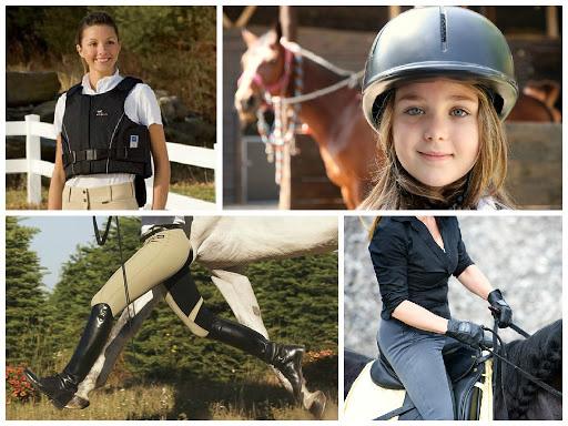 ropa para montar caballo