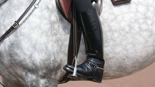 polainas equitación