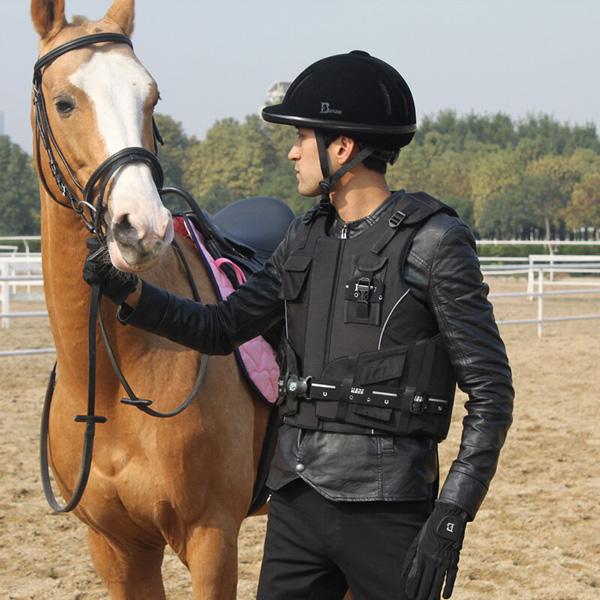 chaleco de equitación